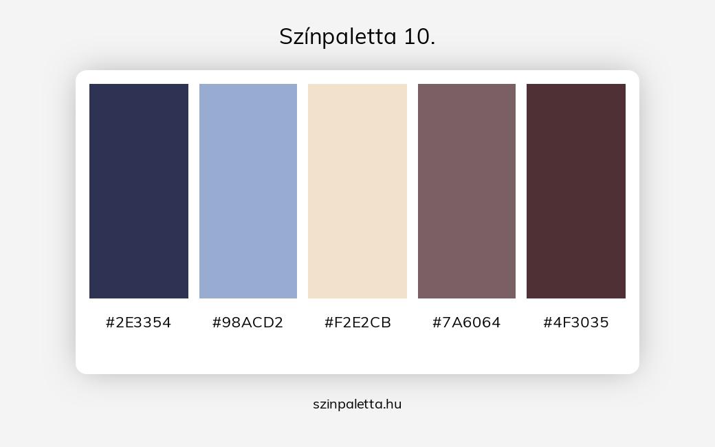 Színpaletta 10. - szinpaletta.hu