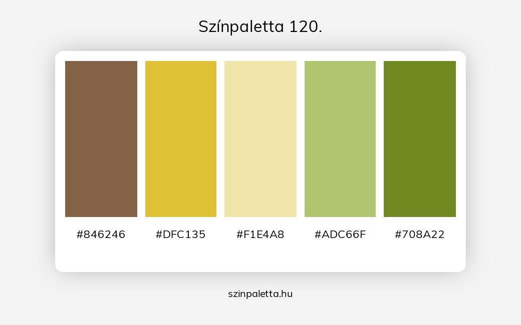 Színpaletta 120. - szinpaletta.hu