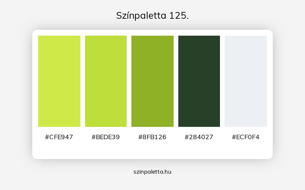 Színpaletta 125. - szinpaletta.hu