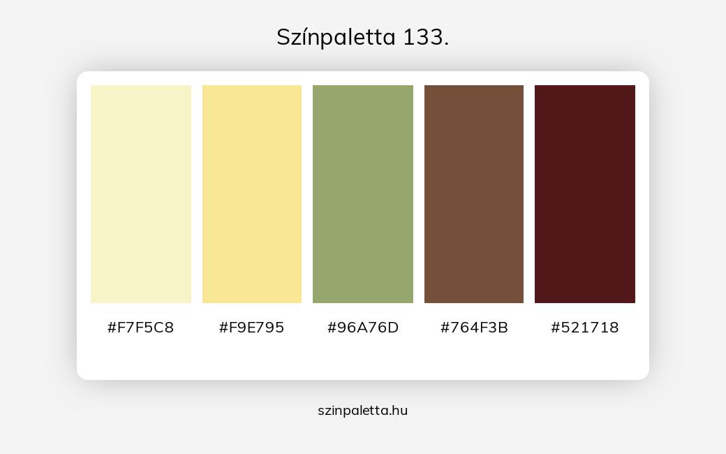 Színpaletta 133. - szinpaletta.hu