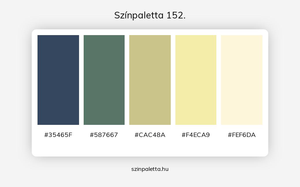 Színpaletta 152. - szinpaletta.hu