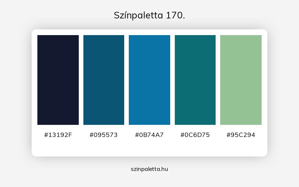 Színpaletta 170. - szinpaletta.hu