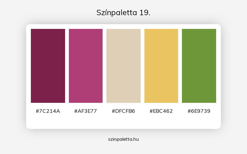Színpaletta 19. - szinpaletta.hu