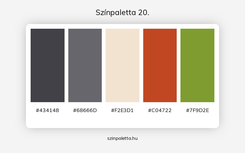 Színpaletta 20. - szinpaletta.hu