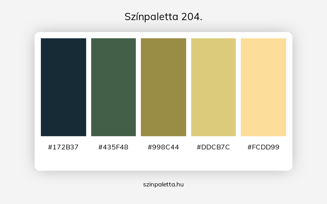 Színpaletta 204. - szinpaletta.hu