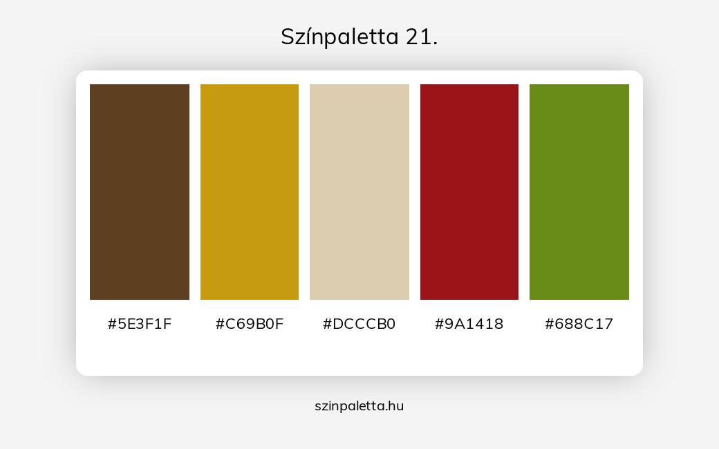 Színpaletta 21. - szinpaletta.hu