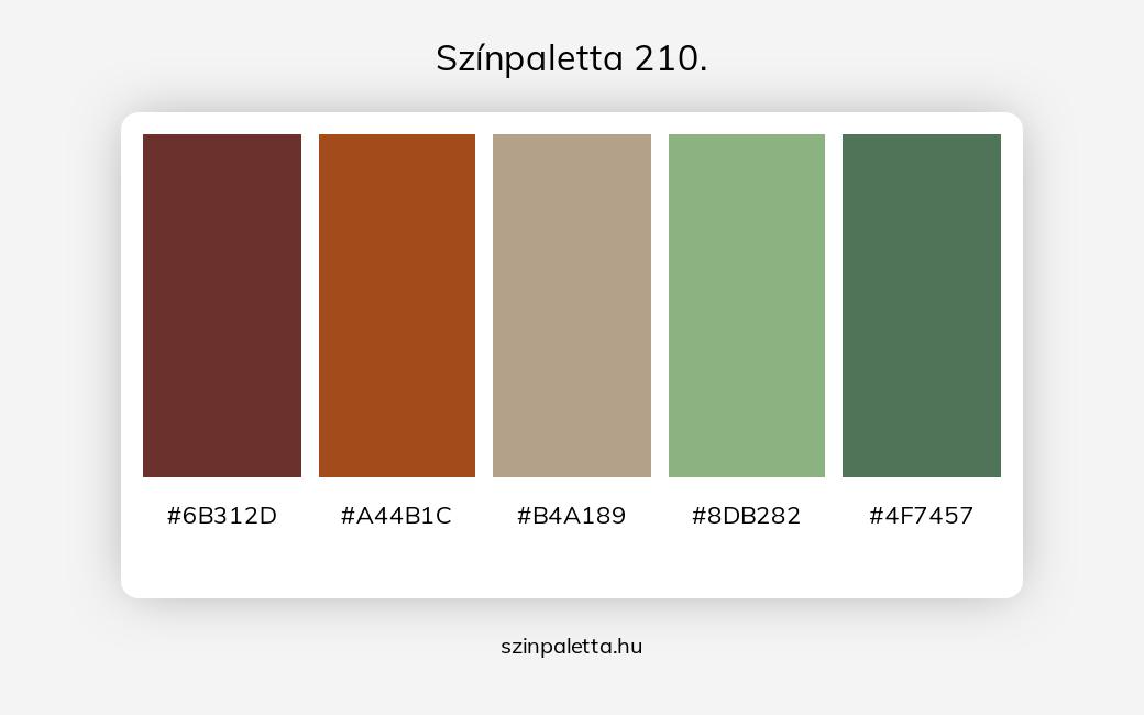 Színpaletta 210. - szinpaletta.hu