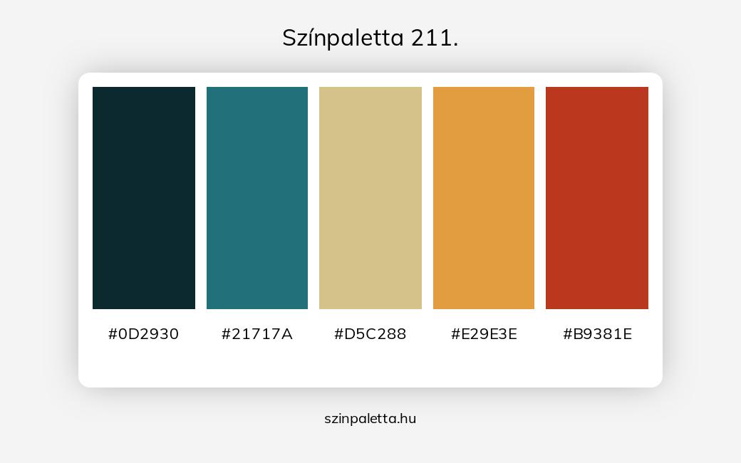 Színpaletta 211. - szinpaletta.hu