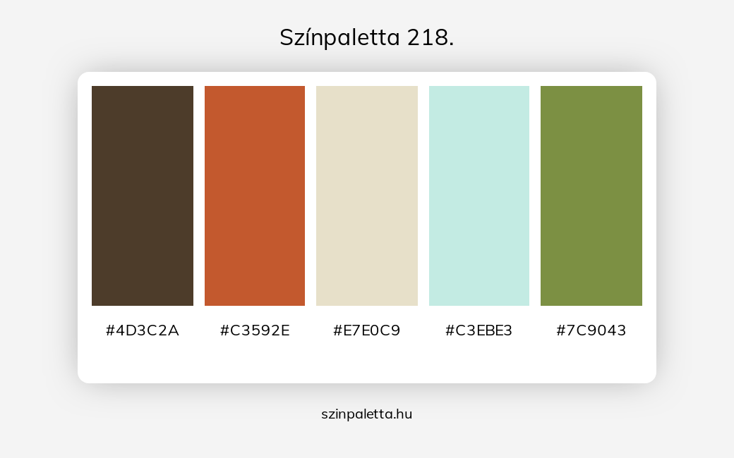 Színpaletta 218. - szinpaletta.hu