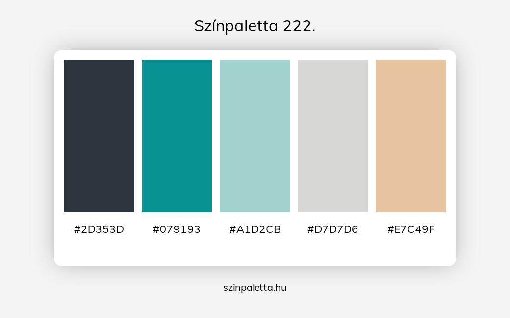 Színpaletta 222. - szinpaletta.hu
