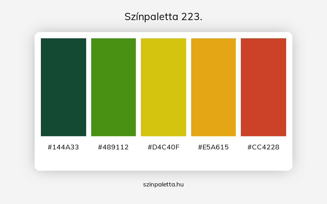 Színpaletta 223. - szinpaletta.hu