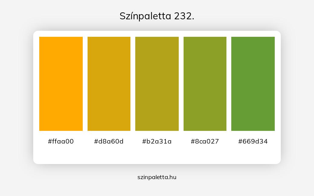 Színpaletta 232. - szinpaletta.hu