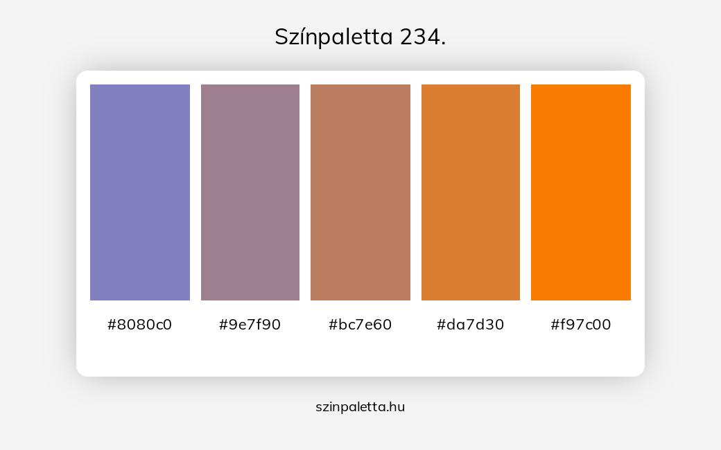 Színpaletta 234. - szinpaletta.hu