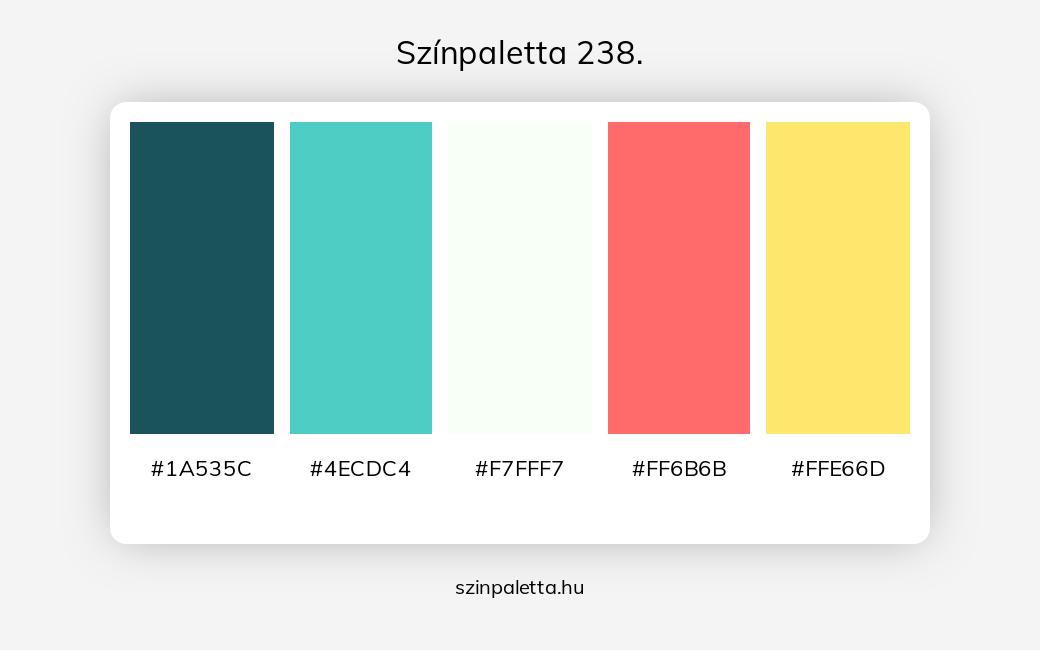 Színpaletta 238. - szinpaletta.hu