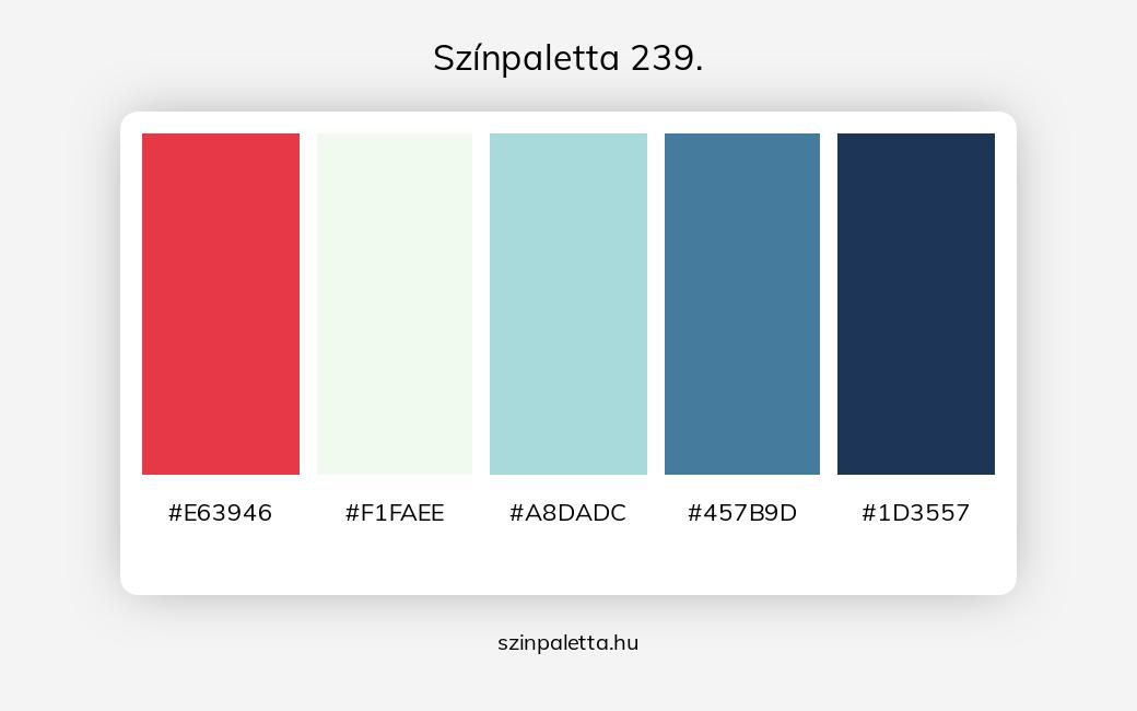 Színpaletta 239. - szinpaletta.hu