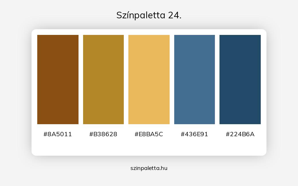 Színpaletta 24. - szinpaletta.hu
