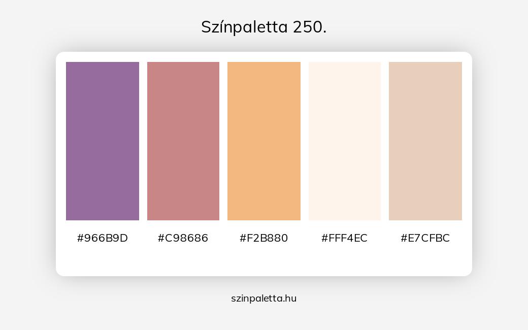 Színpaletta 250. - szinpaletta.hu
