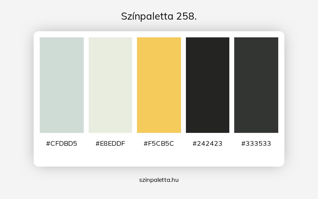Színpaletta 258. - szinpaletta.hu
