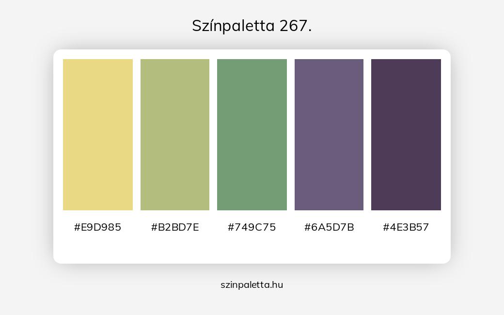 Színpaletta 267. - szinpaletta.hu