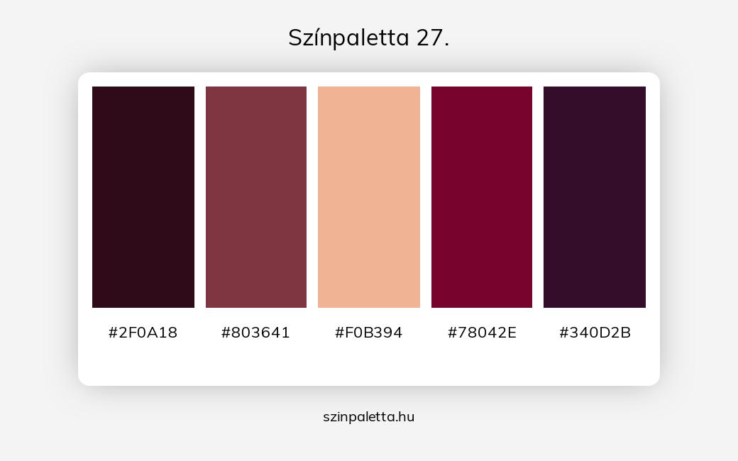 Színpaletta 27. - szinpaletta.hu