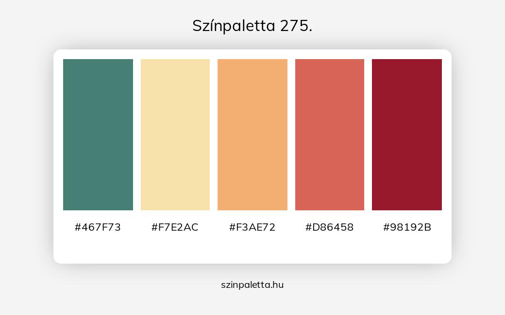 Színpaletta 275. - szinpaletta.hu