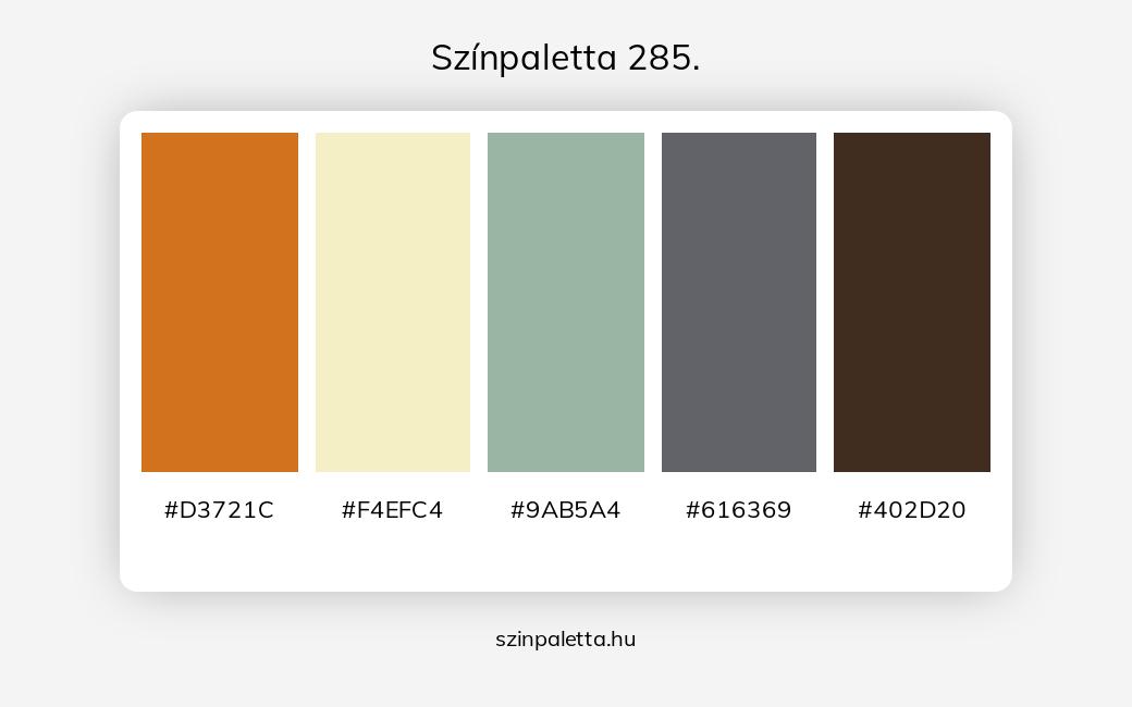 Színpaletta 285. - szinpaletta.hu