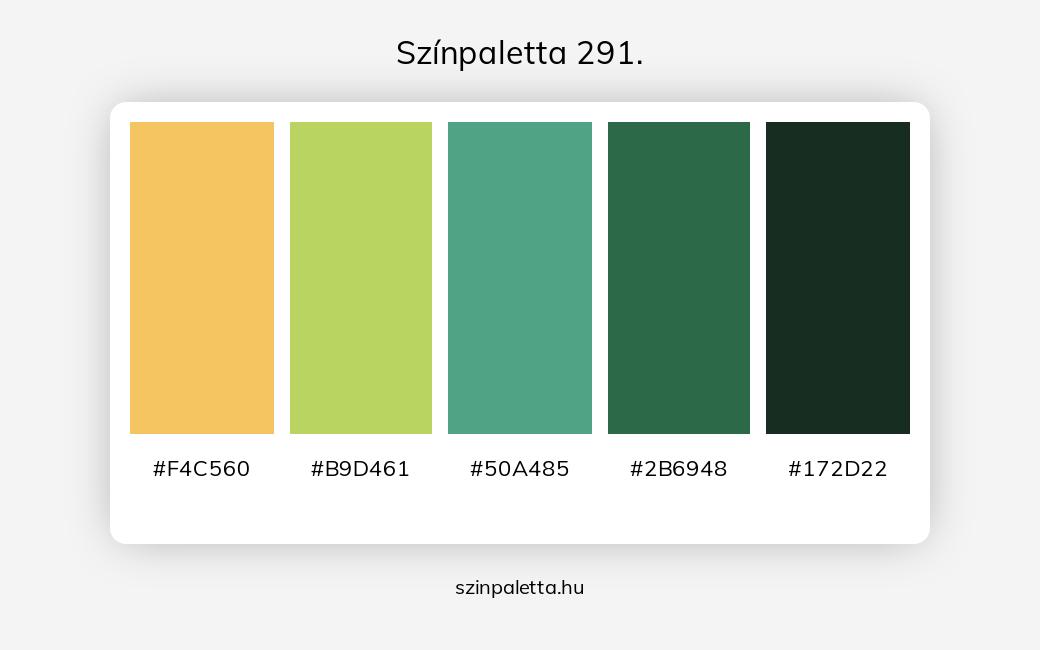 Színpaletta 291. - szinpaletta.hu
