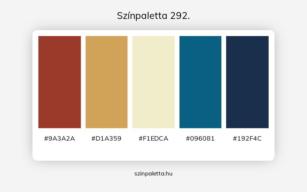 Színpaletta 292. - szinpaletta.hu