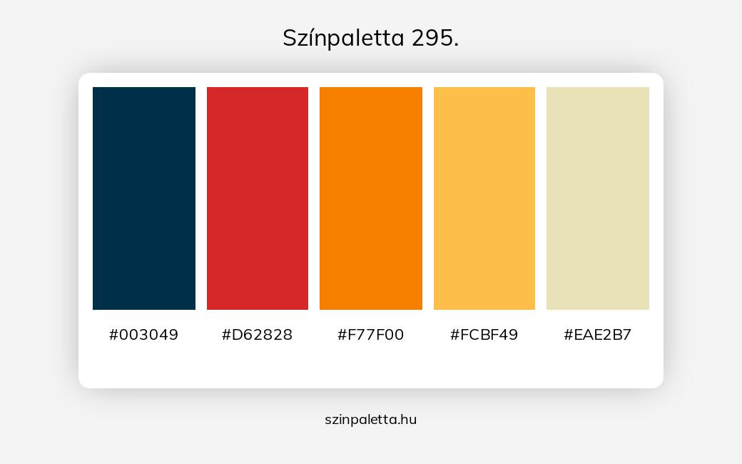 Színpaletta 295. - szinpaletta.hu