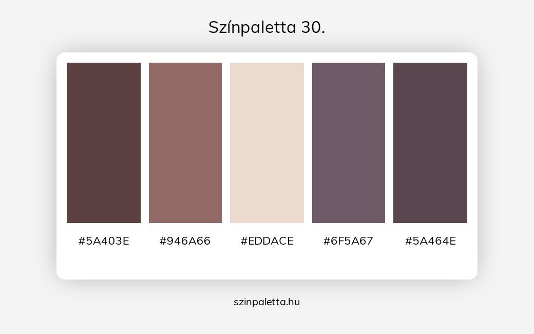 Színpaletta 30. - szinpaletta.hu