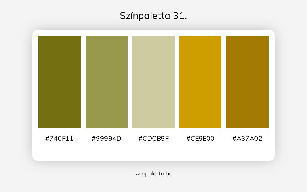 Színpaletta 31. - szinpaletta.hu