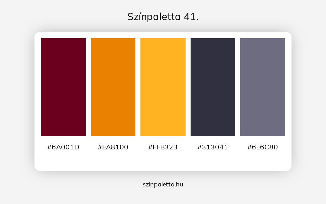 Színpaletta 41. - szinpaletta.hu