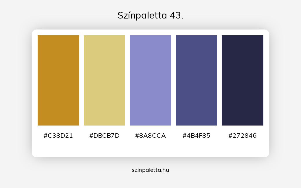 Színpaletta 43. - szinpaletta.hu