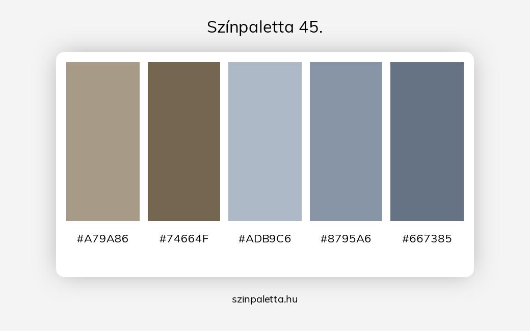 Színpaletta 45. - szinpaletta.hu