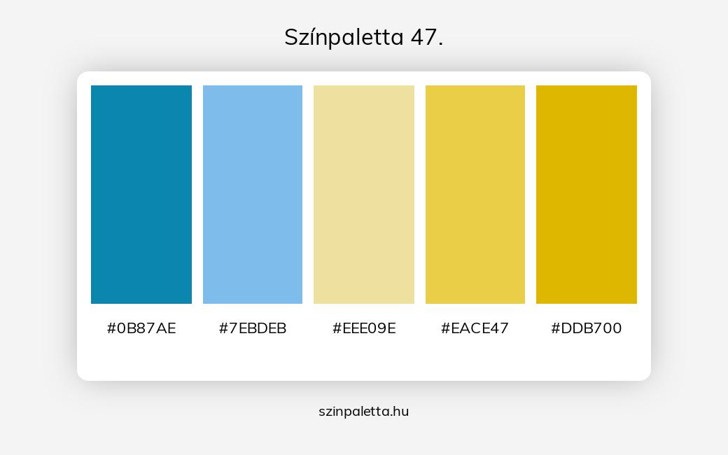 Színpaletta 47. - szinpaletta.hu
