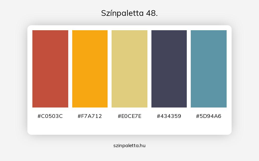 Színpaletta 48. - szinpaletta.hu