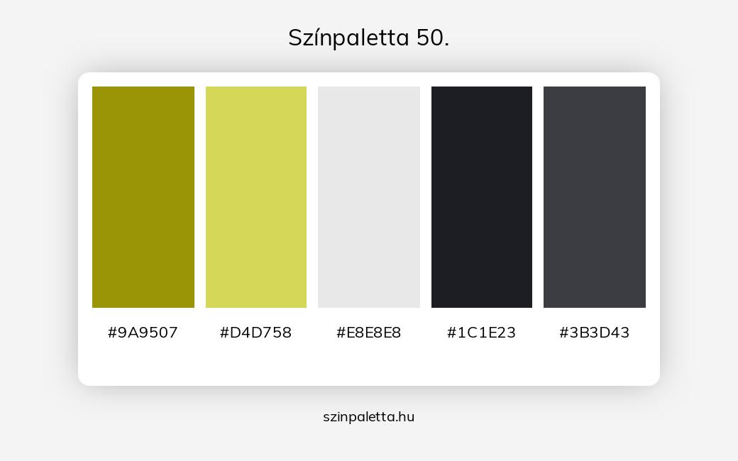 Színpaletta 50. - szinpaletta.hu