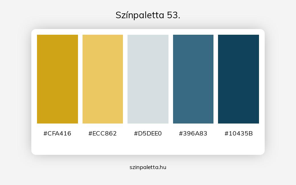 Színpaletta 53. - szinpaletta.hu