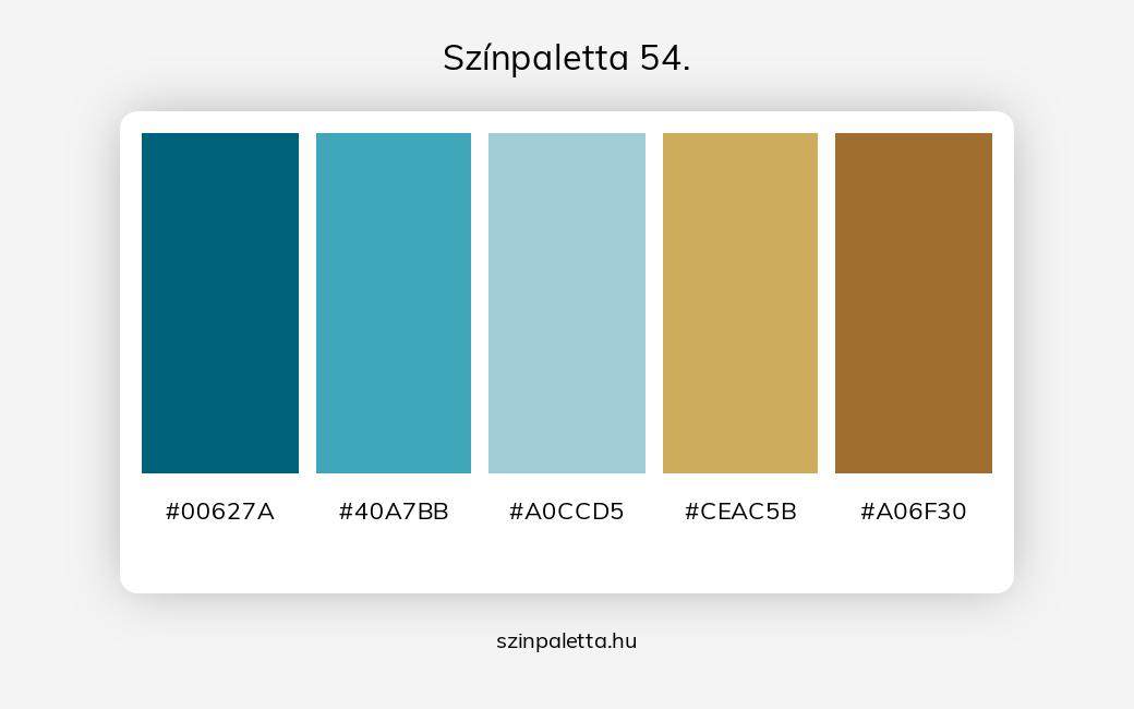 Színpaletta 54. - szinpaletta.hu