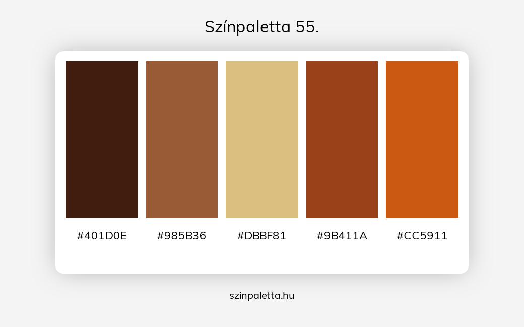 Színpaletta 55. - szinpaletta.hu