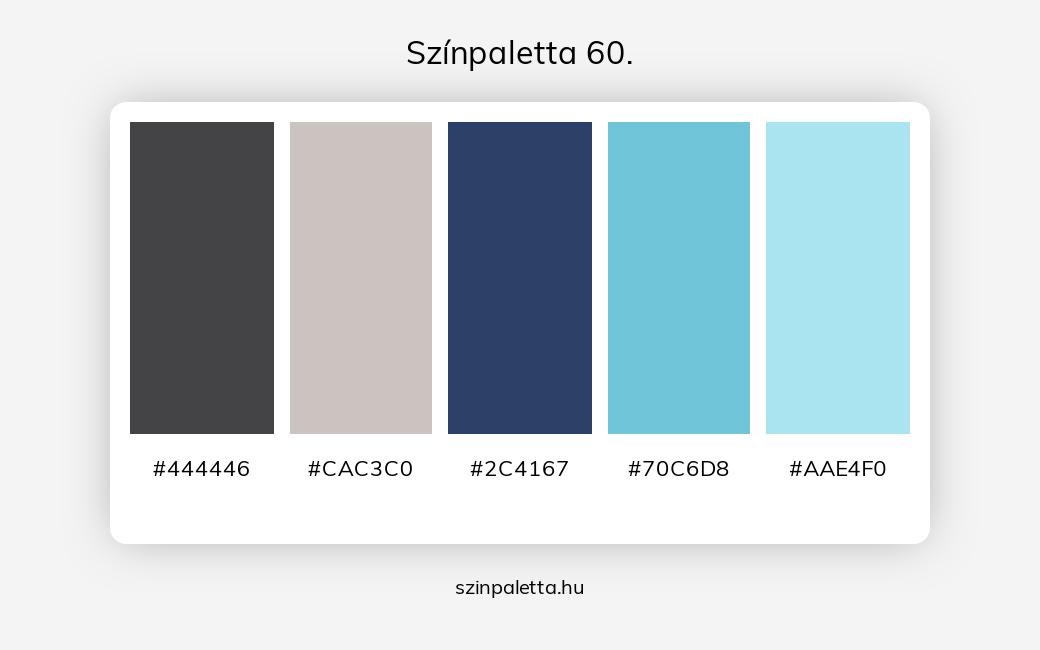 Színpaletta 60. - szinpaletta.hu