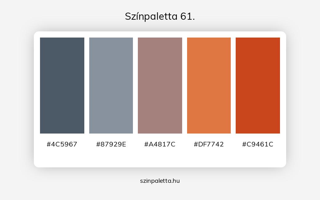 Színpaletta 61. - szinpaletta.hu