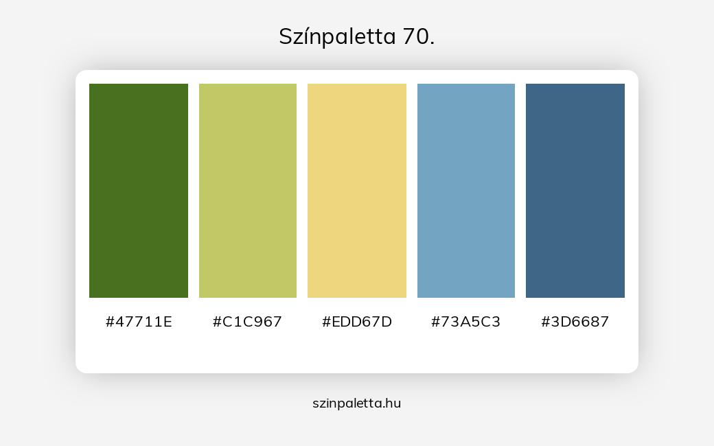 Színpaletta 70. - szinpaletta.hu