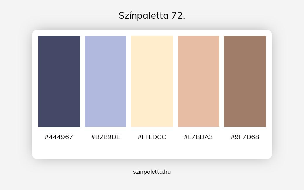 Színpaletta 72. - szinpaletta.hu