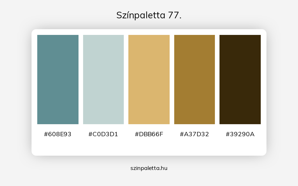 Színpaletta 77. - szinpaletta.hu