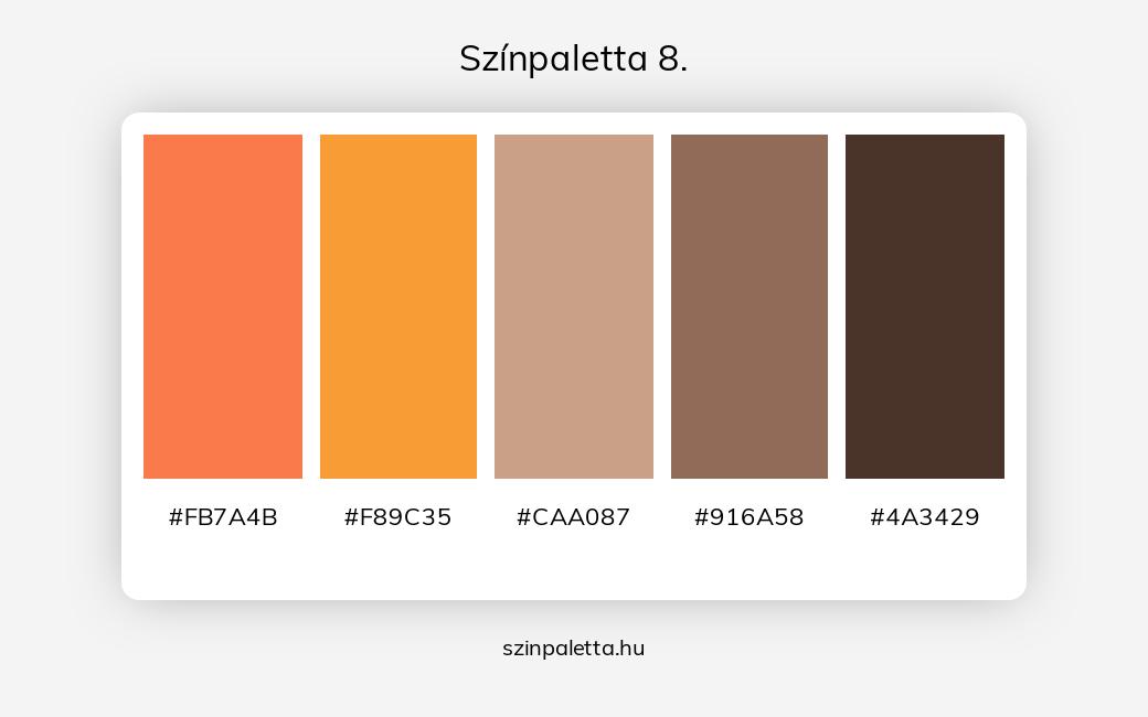 Színpaletta 8. - szinpaletta.hu