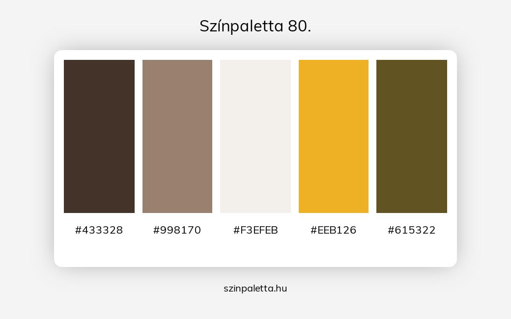 Színpaletta 80. - szinpaletta.hu