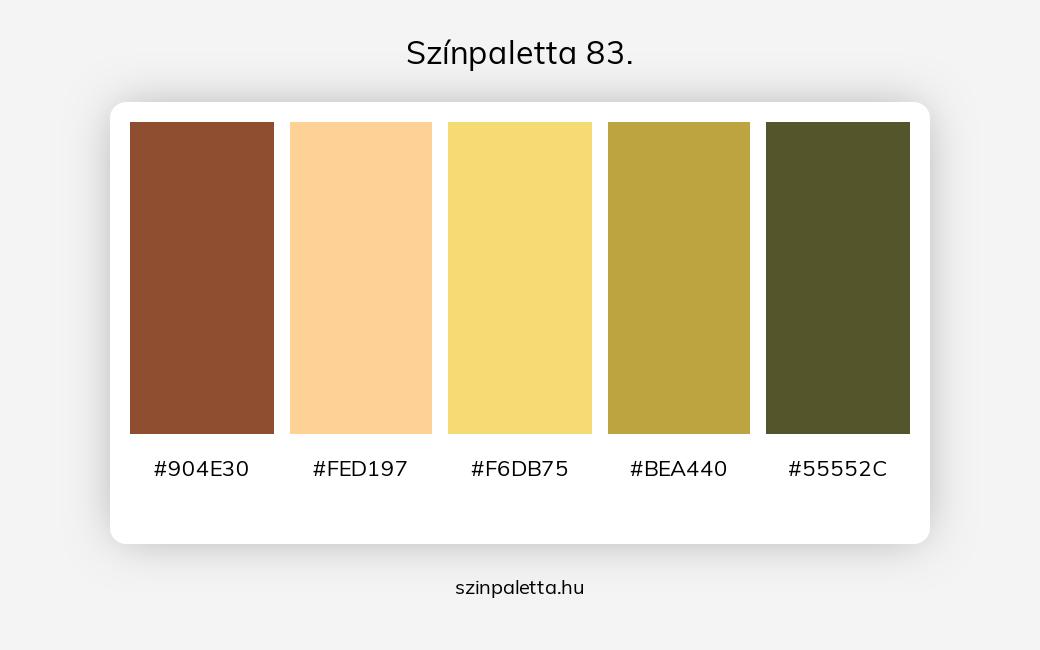 Színpaletta 83. - szinpaletta.hu
