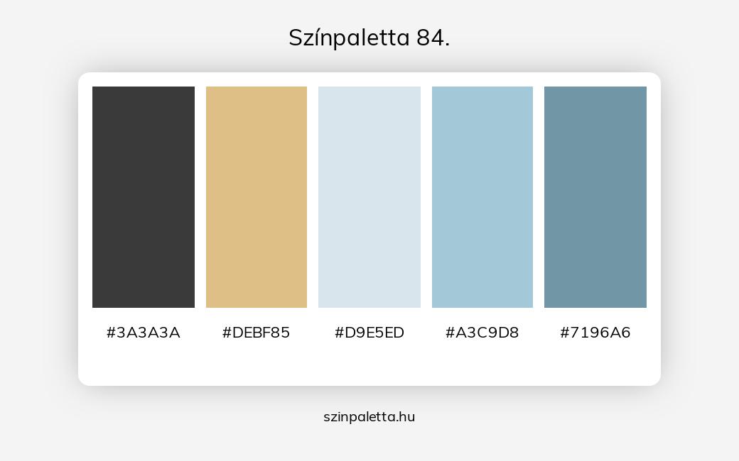 Színpaletta 84. - szinpaletta.hu
