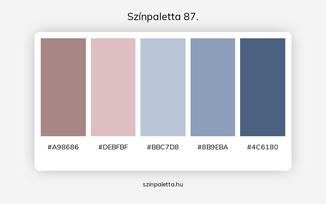 Színpaletta 87. - szinpaletta.hu